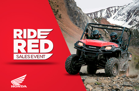 Ride Red Sales Event - ATV/SXS