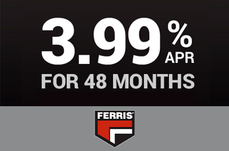 Mow Now, Pay Later, 3.99% for 48 Months
