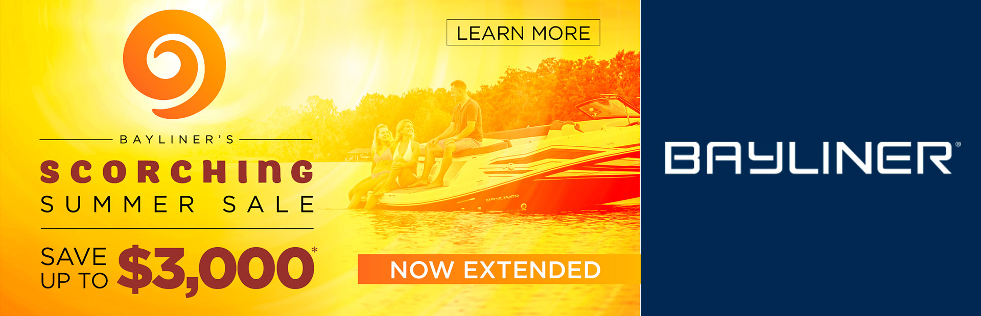 Bayliner: Scorching Summer Sale