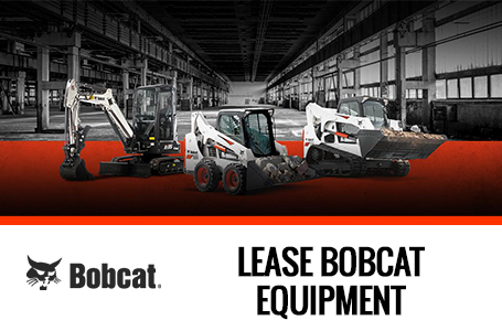 Lease Bobcat equipment