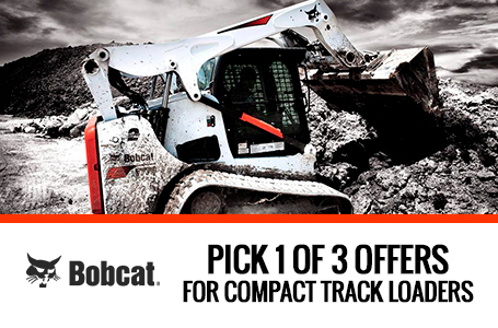 Pick 1 of 3 Offers for Bobcat Compact Track Loader
