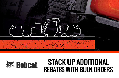 Stack Up Additional Rebates With Bulk Orders.