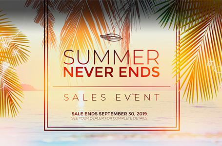 Summer Never Ends Sales Event