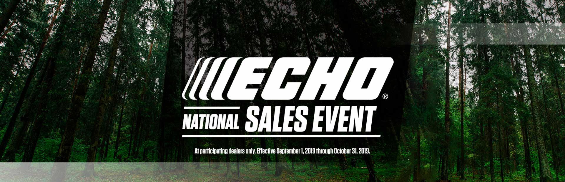 ECHO: ECHO National Sales Event
