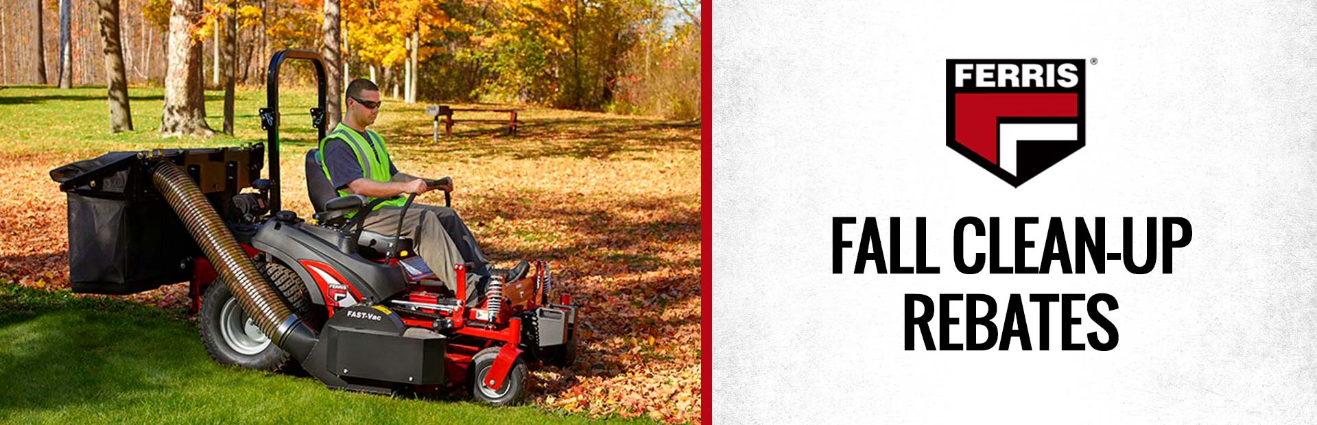 Ferris: Fall Clean-Up Rebates