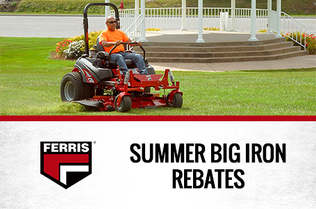 Summer Big Iron Rebates
