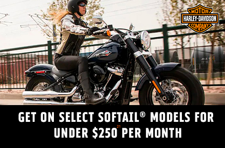 GET ON SELECT SOFTAIL MODELS