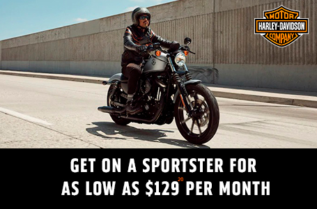 GET ON A SPORTSTER