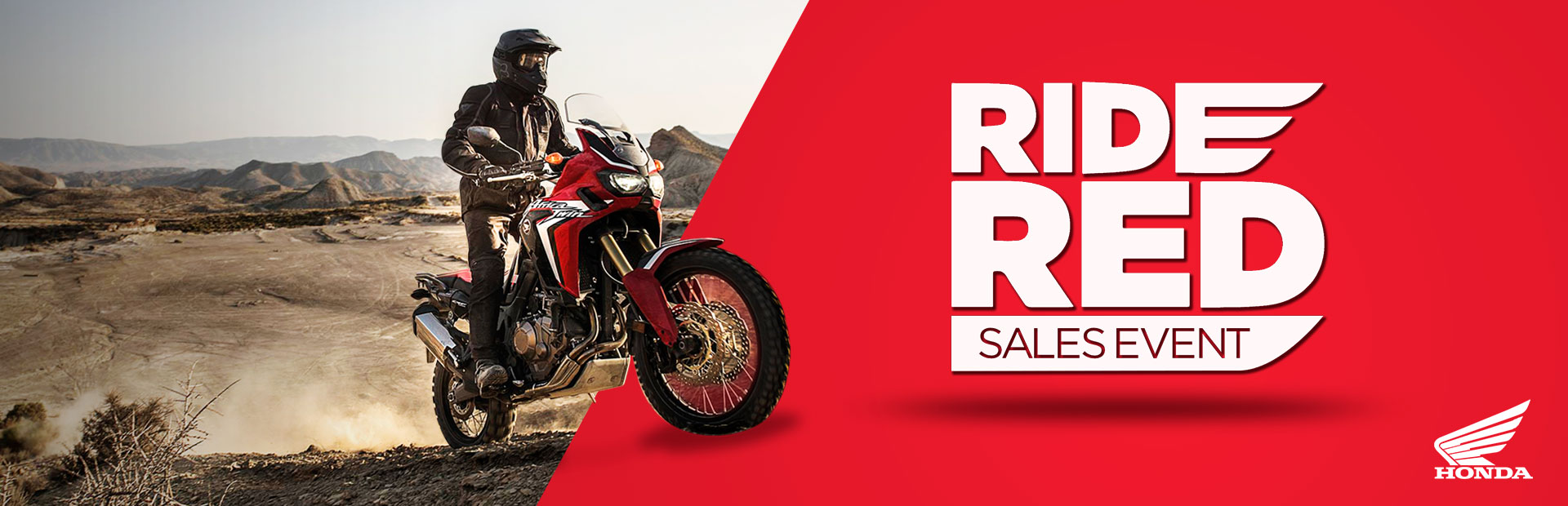 Honda: Ride Red Sales Event - Motorcycles