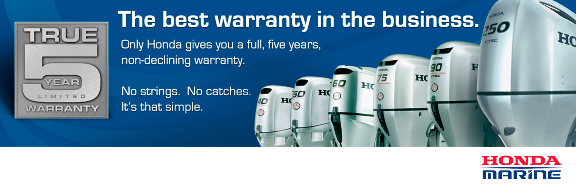 Honda Marine:  Warranty Information