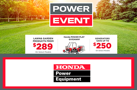 Honda Power Play Giveaway