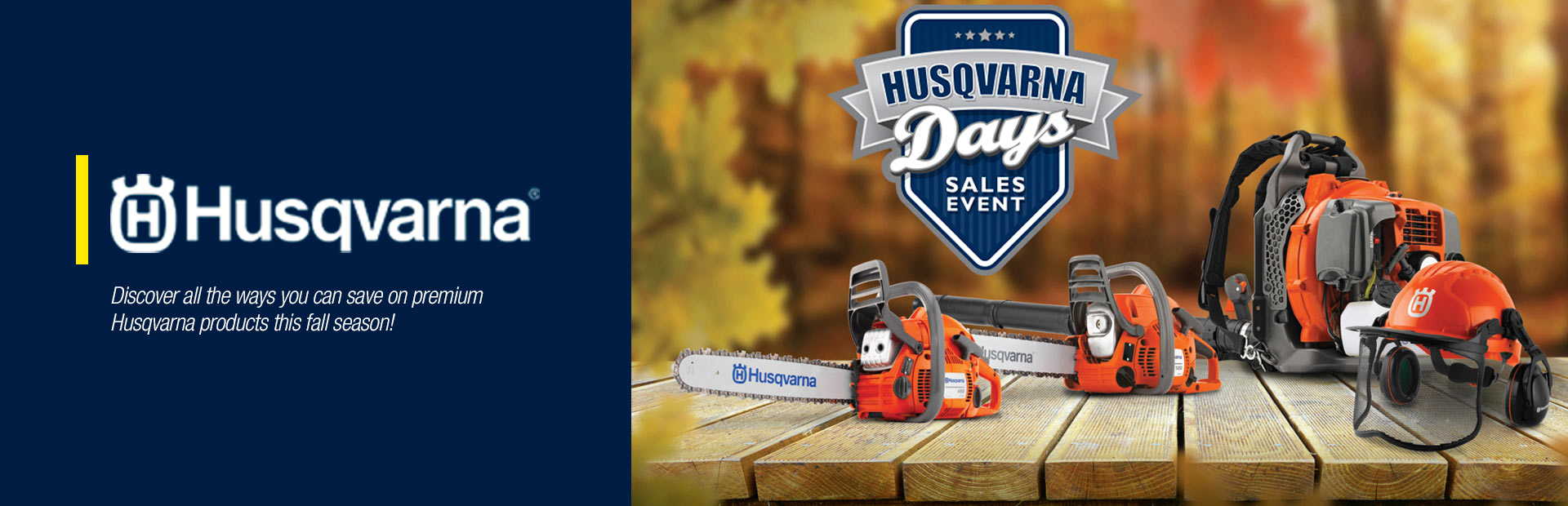 Husqvarna: Fall Husqvarna Days