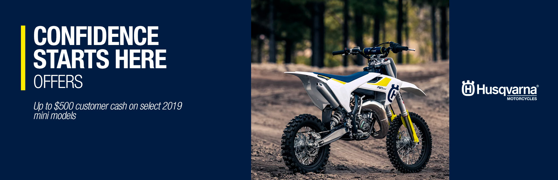 Husqvarna Motorcycles: CONFIDENCE STARTS HERE