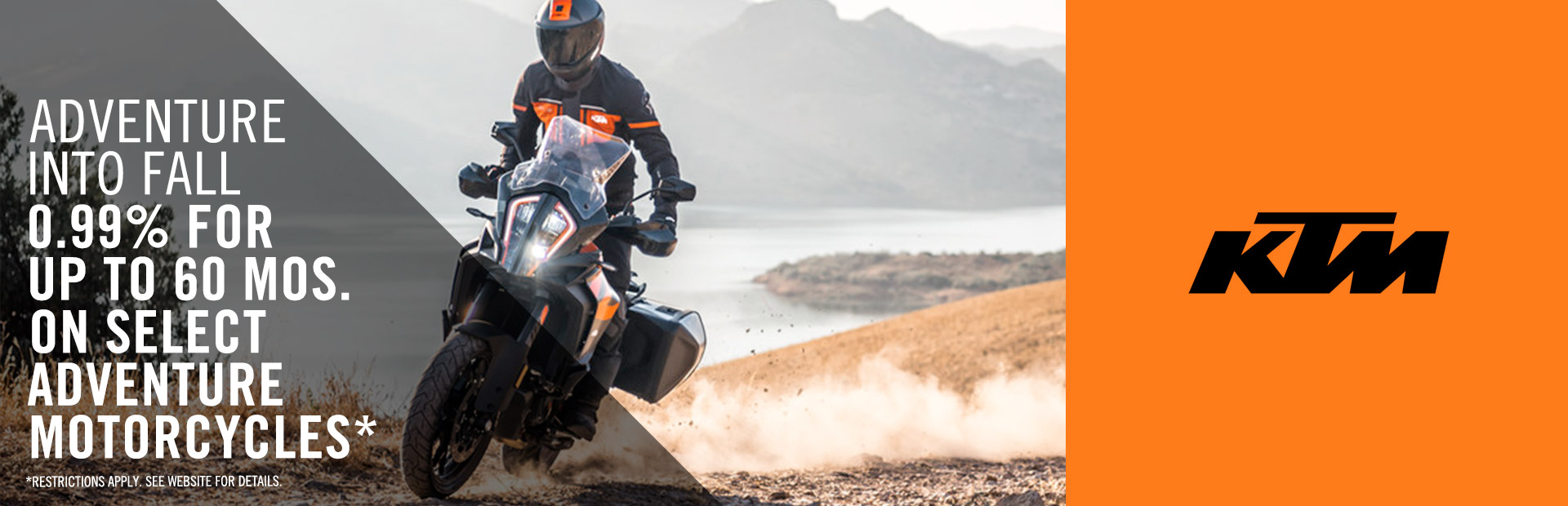 KTM: Fall is For Adventure