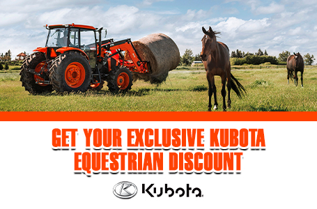 Get Your Exclusive Kubota Equestrian Discount