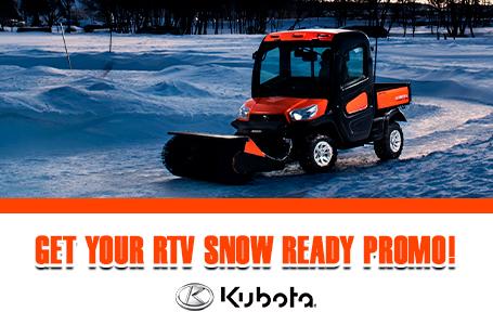 Get Your RTV Snow Ready Promo!