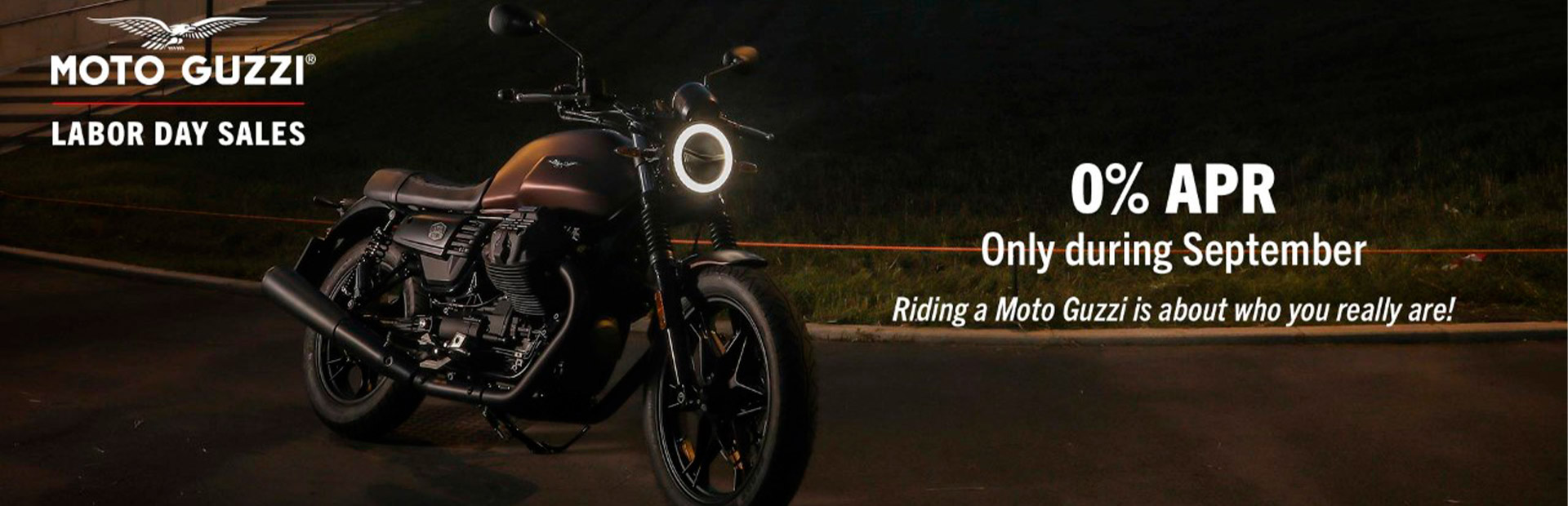 Moto Guzzi: Labor Day Sales