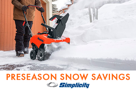 PRESEASON SNOW SAVINGS