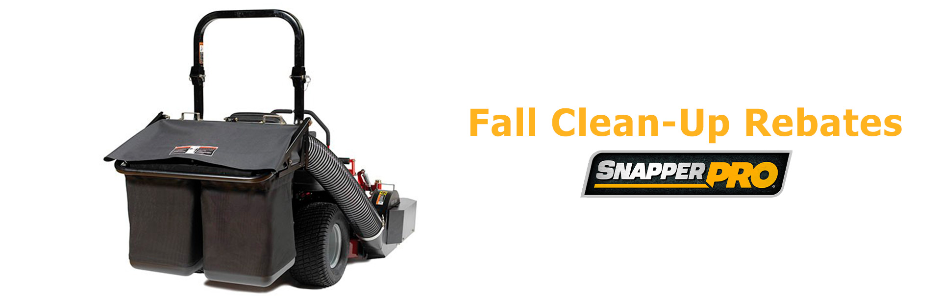 Snapper Pro: Fall Clean-Up Rebates