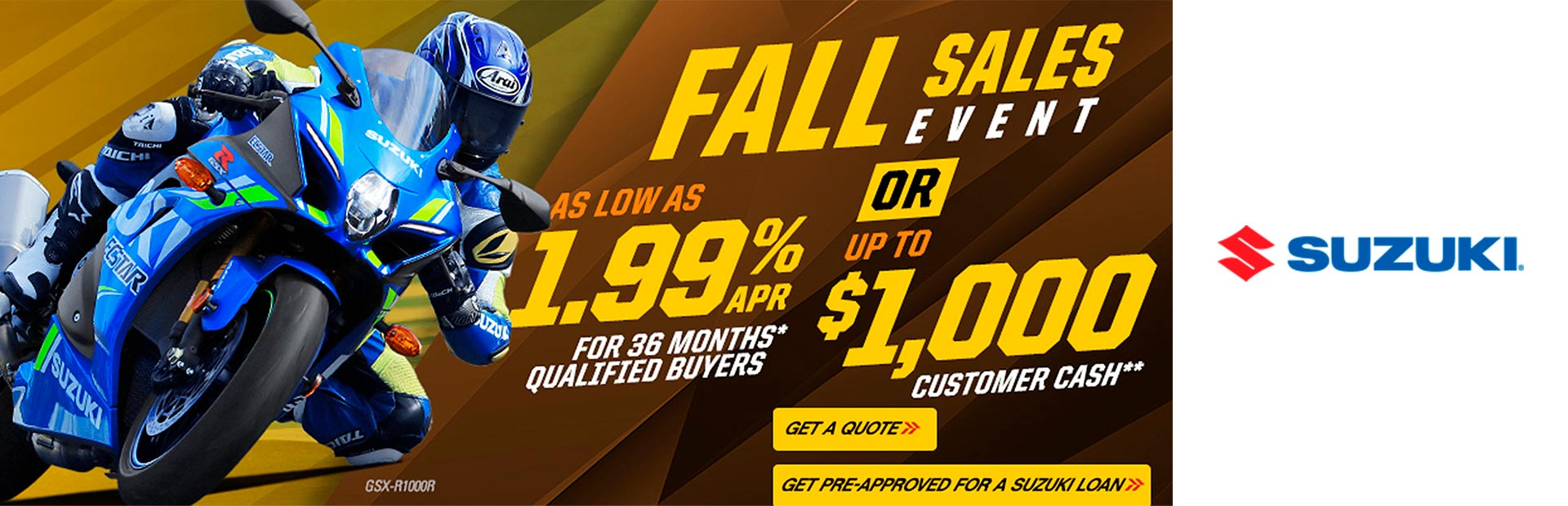 Suzuki: FALL SALES EVENT
