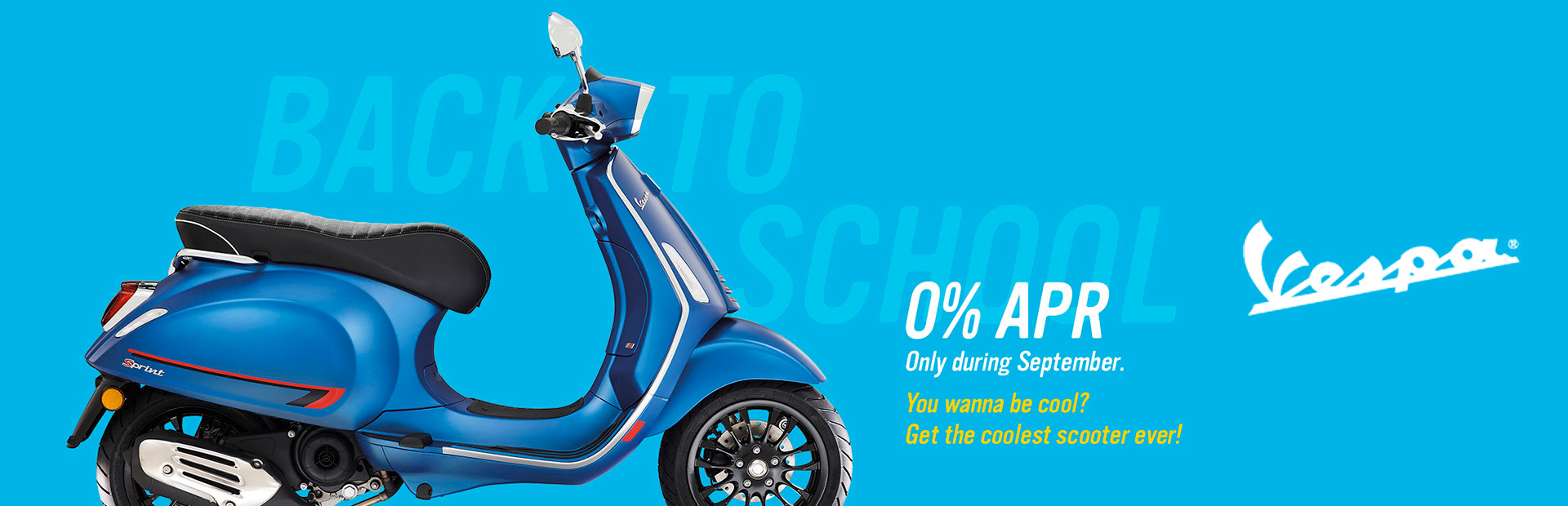 "Vespa: VESPA ""BACK TO SCHOOL"" 2019"