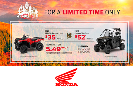 Honda Fall Excursions - ATV/SxS