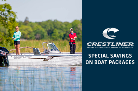 SPECIAL SAVINGS ON BOAT PACKAGES