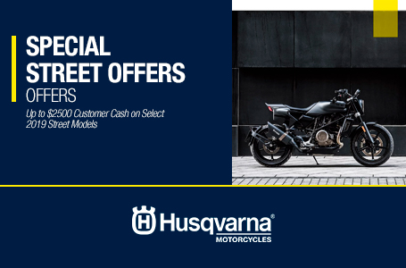 SPECIAL STREET OFFERS