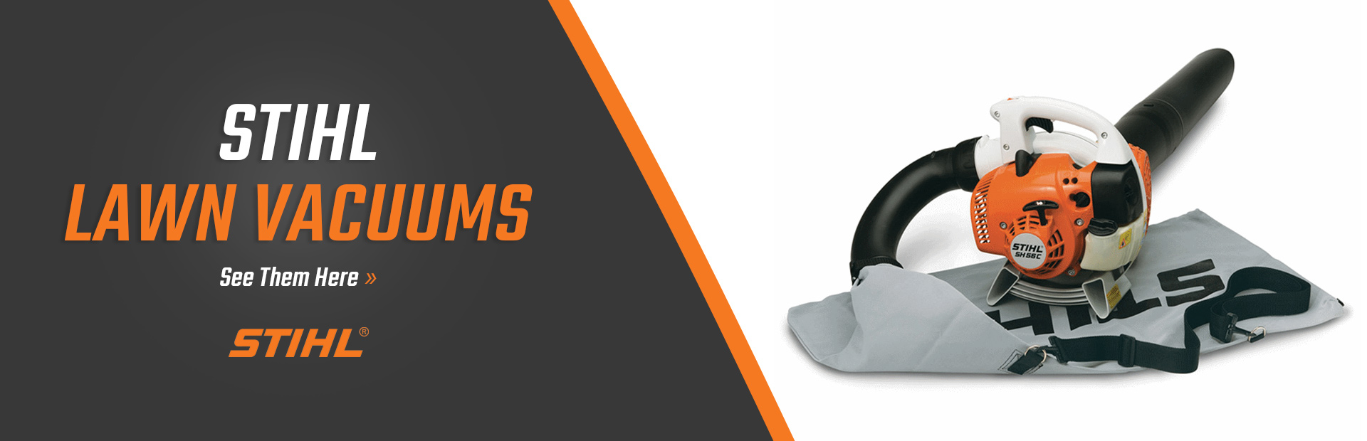 STIHL Lawn Vacuums: Click here now!