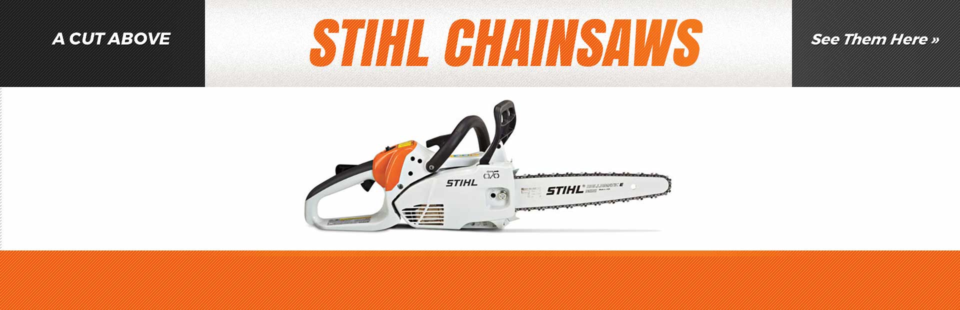 STIHL Chainsaws: A cut above, click here now!